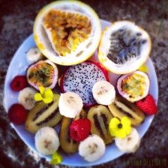 Just fruit!