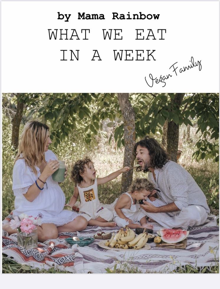 ebook, libro, ricette, mama rainbow, vegan, famiglia, glutenfree, sano, raw, crudismo, facile, veloce, salute, bambini, autosvezzamento,
