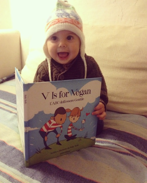 libro bambino vegan