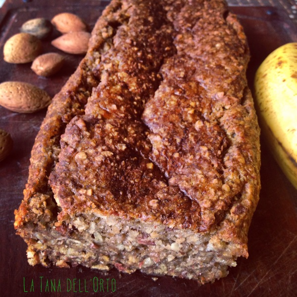 RAW, BANANA BREAD, VEGAN, SUGARFREE, OILFREE, BAMBINI, SVEZZAMENTO, FAMIGLIA, SANO