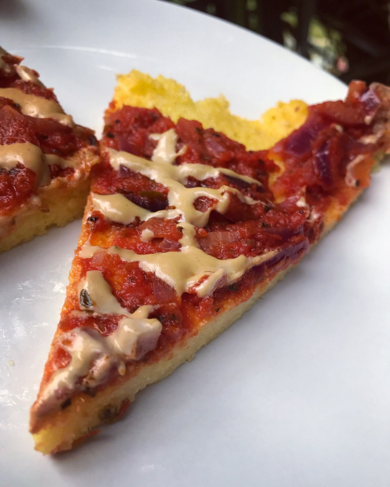 PIZZA GLUTENFREE, POLENTA, MAIS, INTEGRALE, VEGAN, SANO, VELOCE, FAMIGLIA, ZERO WASTE