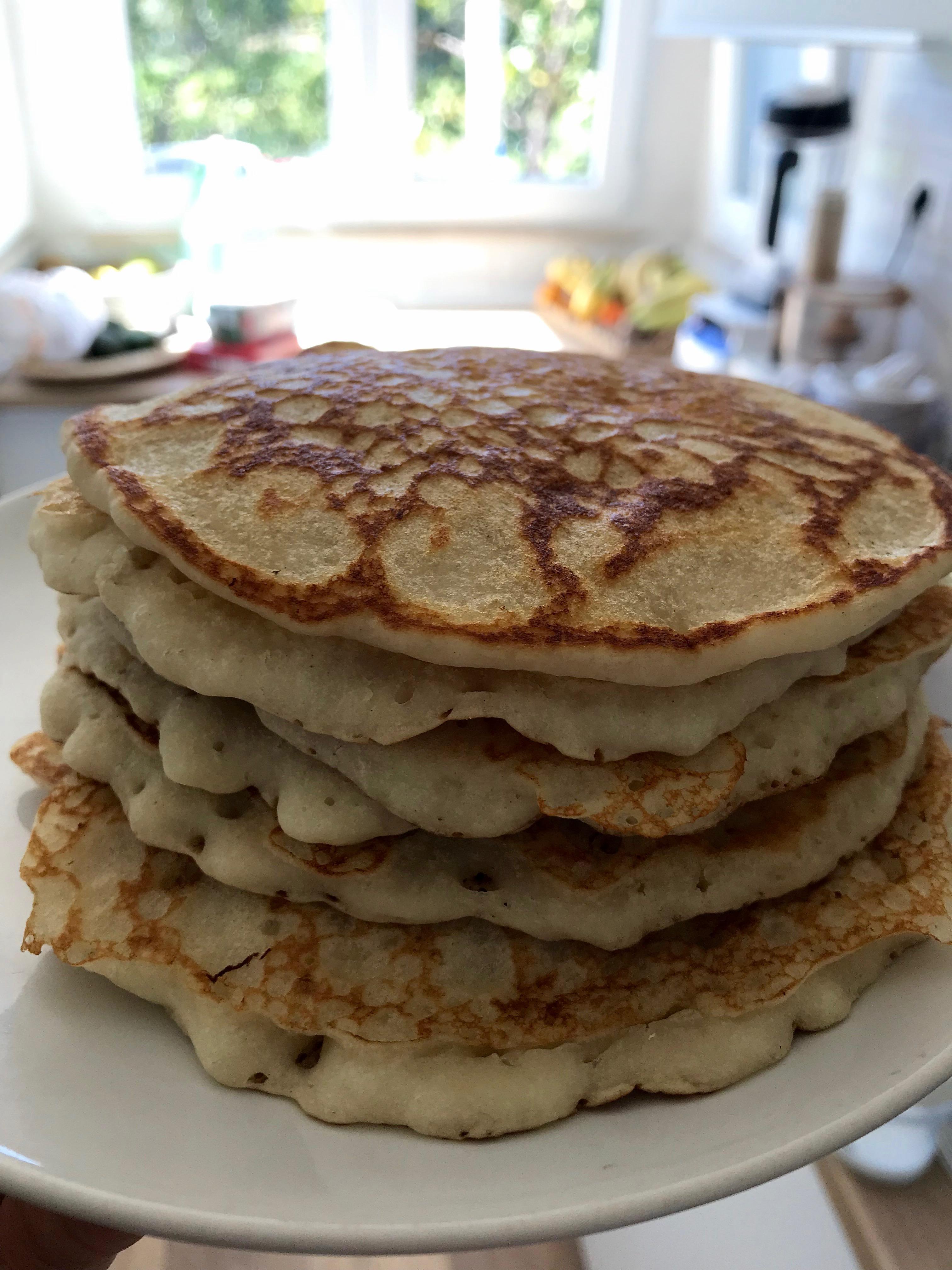 pancake, gluten free, glutenfree, dolce, colazione, ricetta, vegan, facile, famiglia, bambini, casa, buono