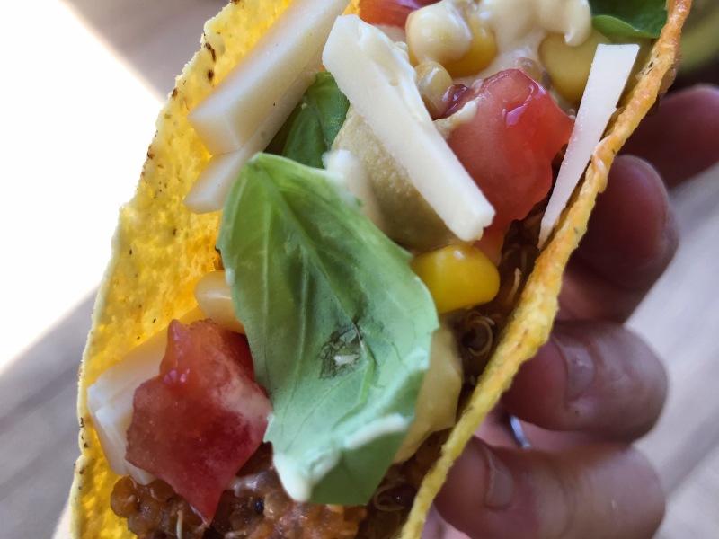 tacos, messicano, vegan, quinoa, pomodoro, ricetta, gravidanza, famiglia, bambini, vegan, sano, facile, veloce, avanzi, riciclo , ricetta