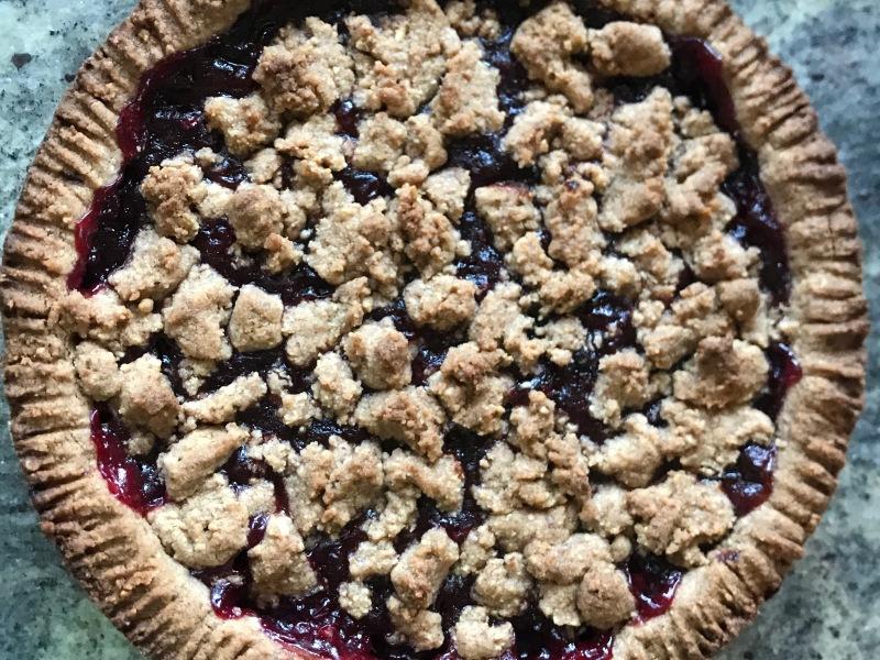 linzertorte, crostata, natale, avvento, vegan, mama rainbow, sano , famiglia, bambini, cucinare, ricetta, naturale, vegetale, dolci, torta, austria, infanzia,